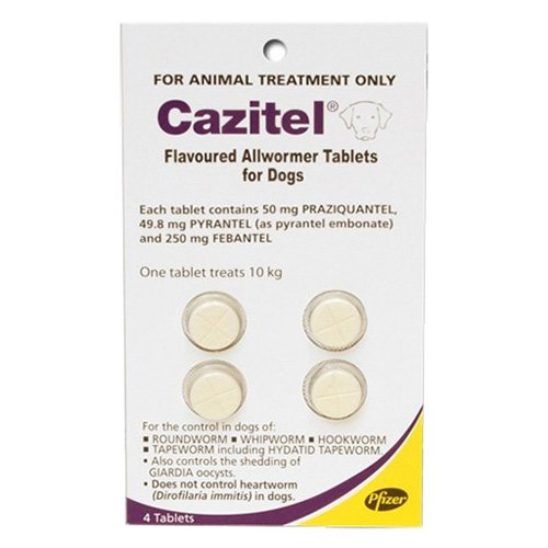 Cazitel Flavoured Allwormer for Dogs 10kg
