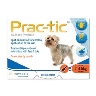 Prac-Tic Spot On for Dog Supplies