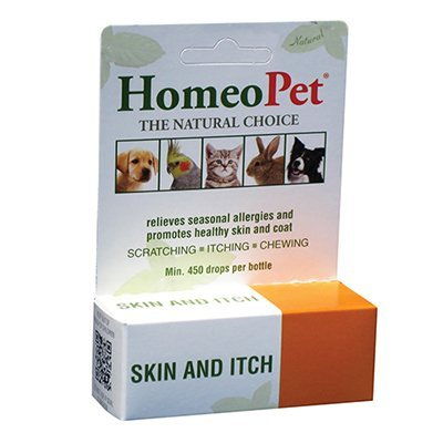 HomeoPet Skin and Itch Relief for Homeopathic