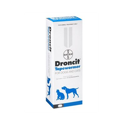 Droncit Tapewormer for Cat Supplies