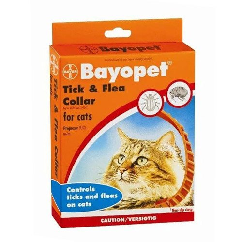 Bayopet Tick and Flea Collar cats for Cat Supplies