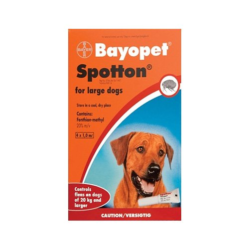Bayopet Tick and Flea Collar for Medium and Large Dogs