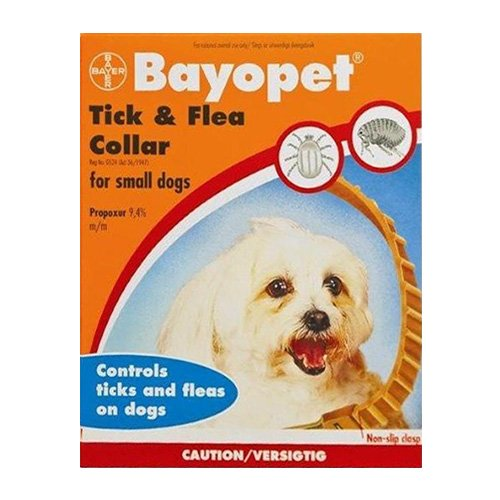 Bayopet Tick and Flea Collar for Small Dogs
