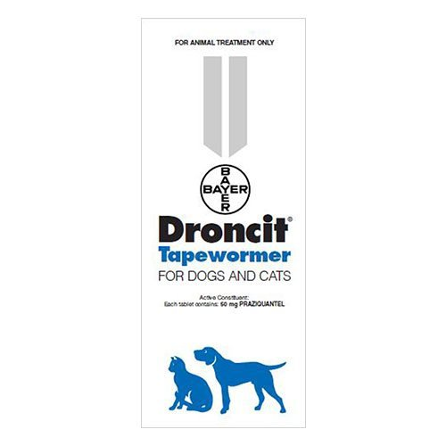 Droncit Tapewormer for Cats