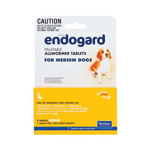 Endogard for Medium Dogs 22 lbs (10Kg)
