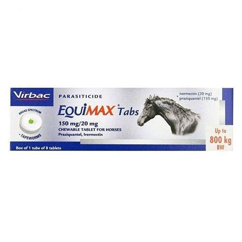 Equimax Wormer 8 Tablets