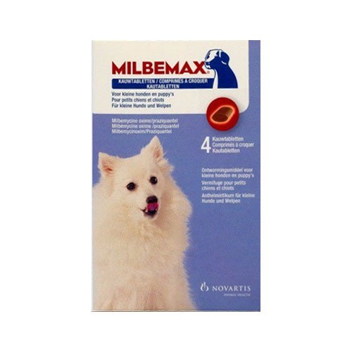 Milbemax Chewable For Small Dogs Under 5 Kgs.