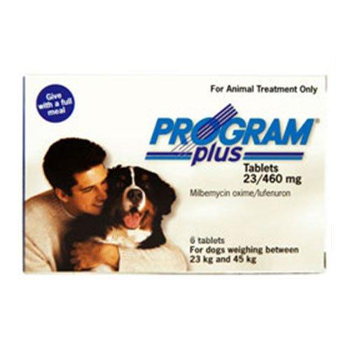 Program Plus for Dogs 46 - 90 lbs (White)