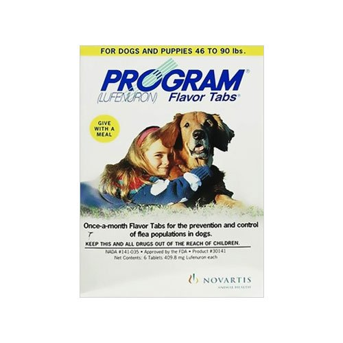 Program Tablets for Dogs 14.8 - 44lbs (Brown)