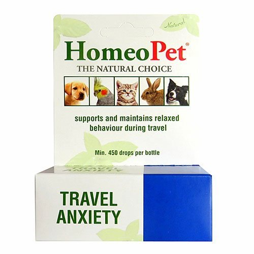 Travel Anxiety for Dogs & Cats for Homeopathic