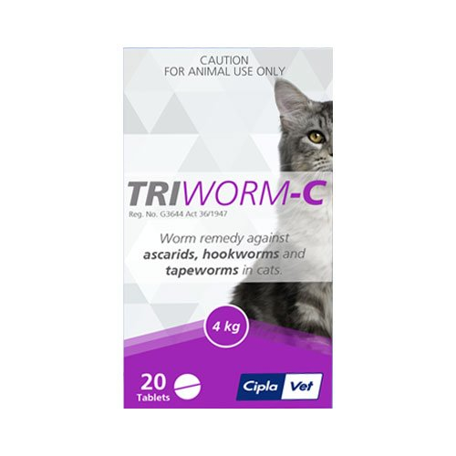 Triworm-C Dewormer for Cats