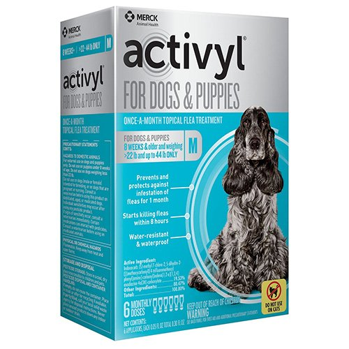 Activyl For Medium Dogs 22 – 44 lbs Pink