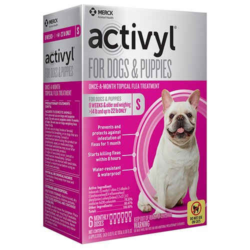 Activyl For Small Dogs 14 – 22 lbs Orange