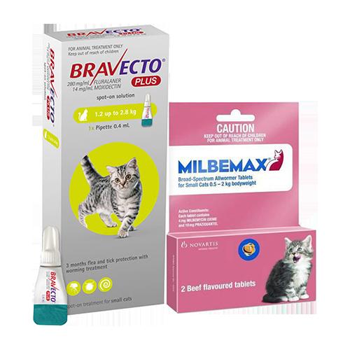 BravectoPlusup-Milbemax-Cat