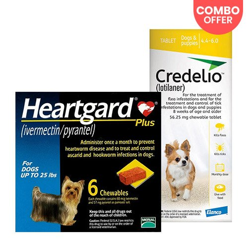 Credelio + Heartgard Plus Combo Pack for Dog Supplies