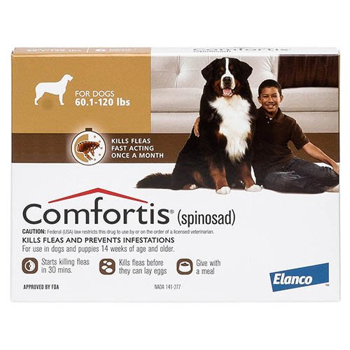 Comfortis Brown For Dogs 23 - 36 kg (50 - 80lbs)