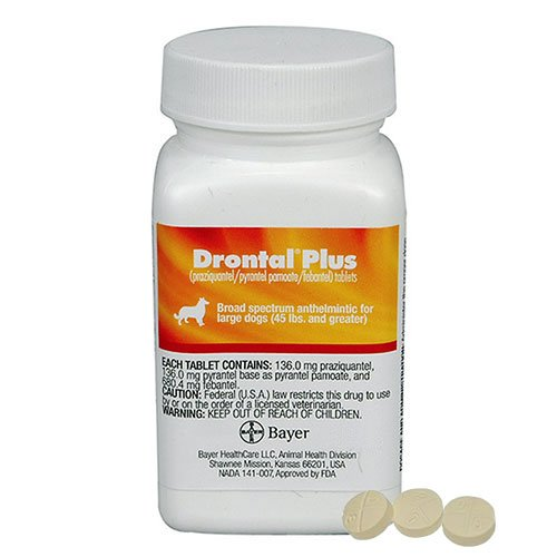 Drontal for Very Small Dogs upto 3kg