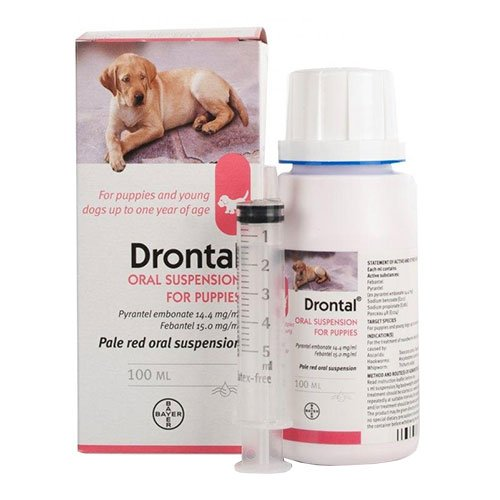 Drontal Plus Puppy Worming Suspension