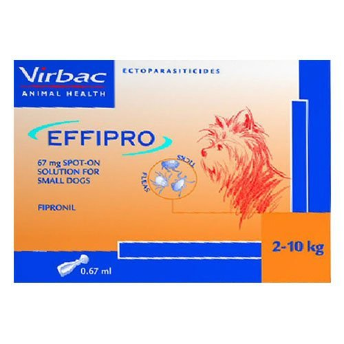Effipro Spot-On Solution for Dogs up to 22 lbs.