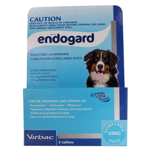 Endogard For Extra Large Dogs 77 Lbs (35 Kg)