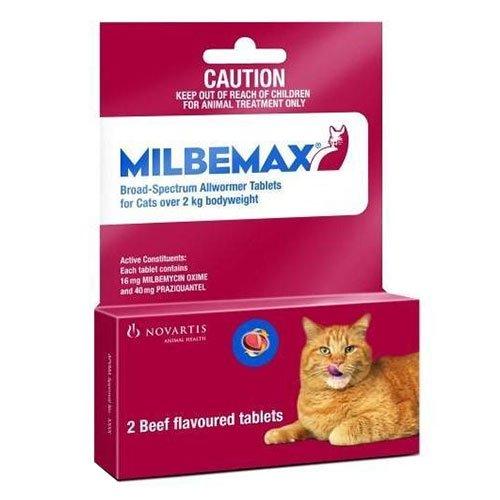 Milbemax For Cats 2Kg-8kg