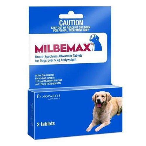 Milbemax Large Dog 5-25 Kgs