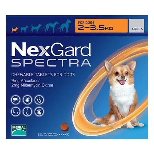 Nexgard Spectra Chewable Tablets for Dog Supplies