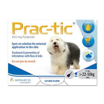Prac-Tic Spot On (White) forLarge Dog - 50-110 lbs