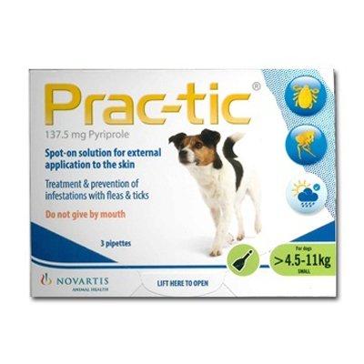Prac-Tic Spot On (Green) forSmall Dog - 10-25 lbs