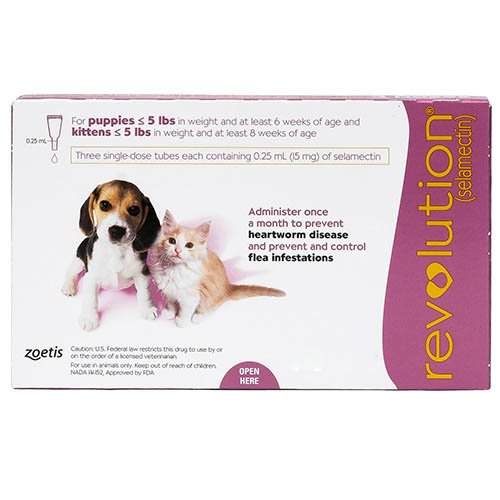Revolution for Kittens / Puppies (Pink)