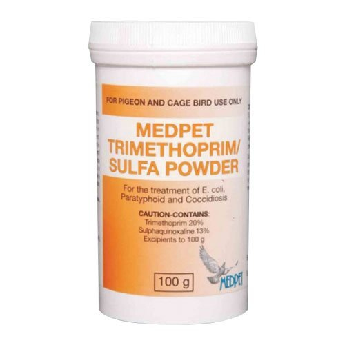 Trimethoprim Sulfa Powder 100 gm